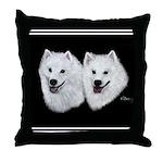 American Eskimo Throw Pillow