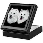American Eskimo Keepsake Box