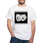 American Eskimo White T-Shirt