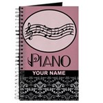 Personalized Piano Music Practice Book