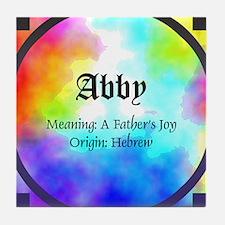 Abby Tile Coaster