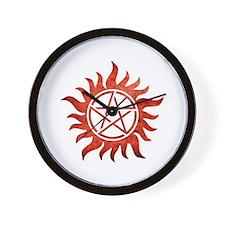 Supernatural Anti-Possession Tattoo Wall Clock