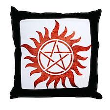 Supernatural Anti-Possession Tattoo Throw Pillow