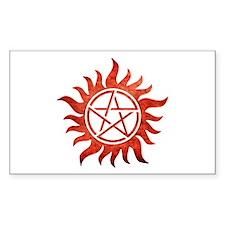 Supernatural Anti-Possession Tattoo Rectangle Stic