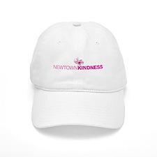 Newtown Kindness Logo White / Pink Baseball Baseball Cap