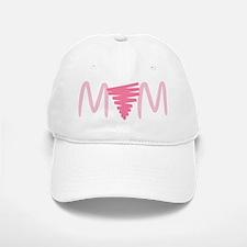 """""""Lesbian Mom Pink Triangle"""" Baseball Baseball Cap"""