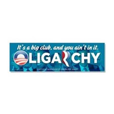 Oligarchy Car Magnet 10 x 3