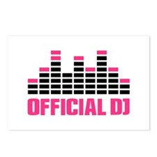 Official DJ Equalizer Postcards (Package of 8)