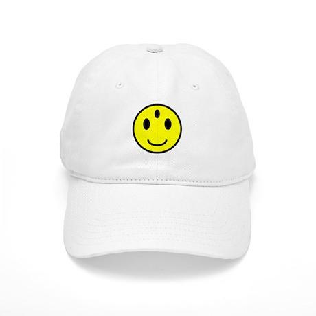 Enlightened Smiley Face Cap