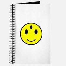 Enlightened Smiley Face Journal