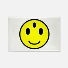 Enlightened Smiley Face Rectangle Magnet (100 pack