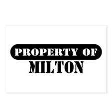 Property of Milton Postcards (Package of 8)