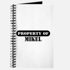 Property of Mikel Journal