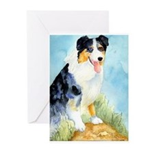 Australian Shepherd Greeting Cards