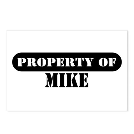 Property of Mike Postcards (Package of 8)