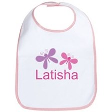 Personalized World's Best butterfly Bib