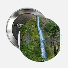 """Starvation Creek Falls 2.25"""" Button"""