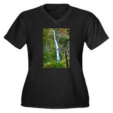 Starvation Creek Falls Plus Size T-Shirt