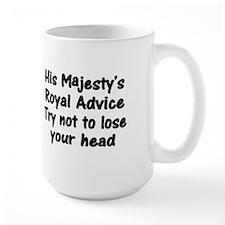 Henry VIII Advice Mug