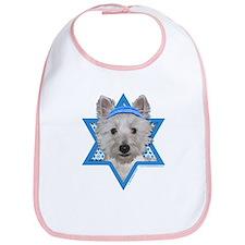 Hanukkah Star of David - Westie Bib