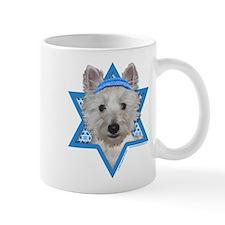 Hanukkah Star of David - Westie Mug