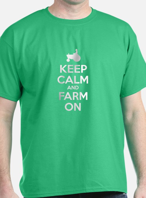 Keep Calm Farm T Shirts Shirts Tees Custom Keep Calm
