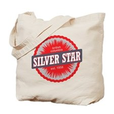 Silver Star Ski Resort British Columbia Red Tote B
