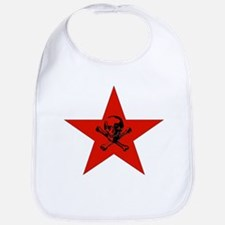 Red Star and Skull Bib
