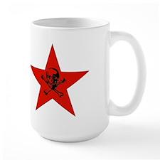 Red Star and Skull Mug