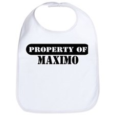 Property of Maximo Bib