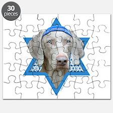 Hanukkah Star of David - Weimie Puzzle