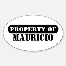 Property of Mauricio Oval Decal