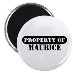Property of Maurice Magnet
