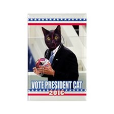 Vote President Cat for 2016 Rectangle Magnet