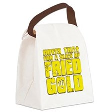 Fried Gold Canvas Lunch Bag