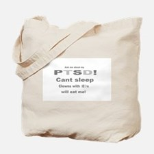 ask ptsd clown Tote Bag