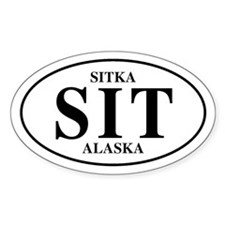 Sitka Oval Decal