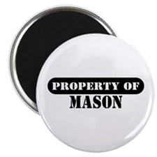 "Property of Mason 2.25"" Magnet (10 pack)"
