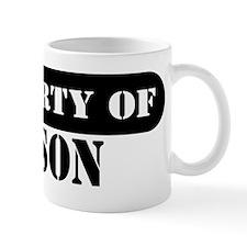 Property of Mason Mug