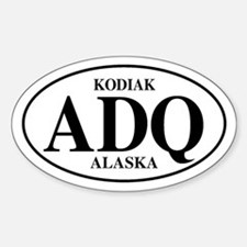 Kodiak Oval Decal