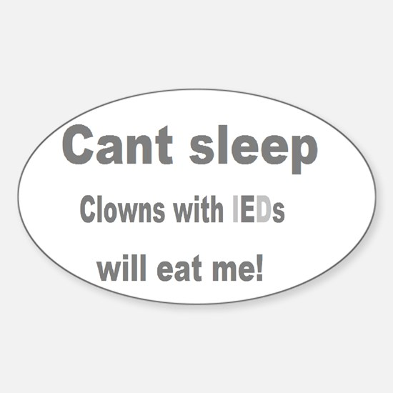 Clowns Ptsd Bumper Stickers