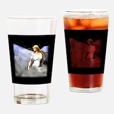 Royal Angel 3D Design Drinking Glass