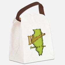 Illinois Funny Motto Canvas Lunch Bag