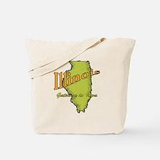 Illinois Funny Motto Tote Bag