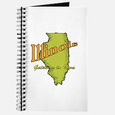 Illinois Funny Motto Journal