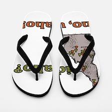 Idaho? No, Udaho! Flip Flops
