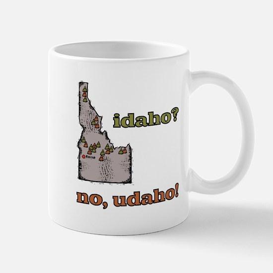Idaho? No, Udaho! Mug