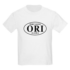Port Lions  Kids T-Shirt