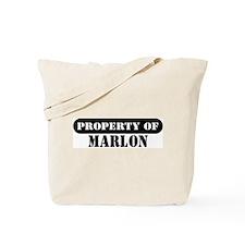 Property of Marlon Tote Bag