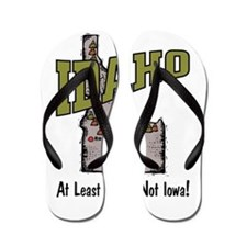 Idaho - Funny Saying Flip Flops